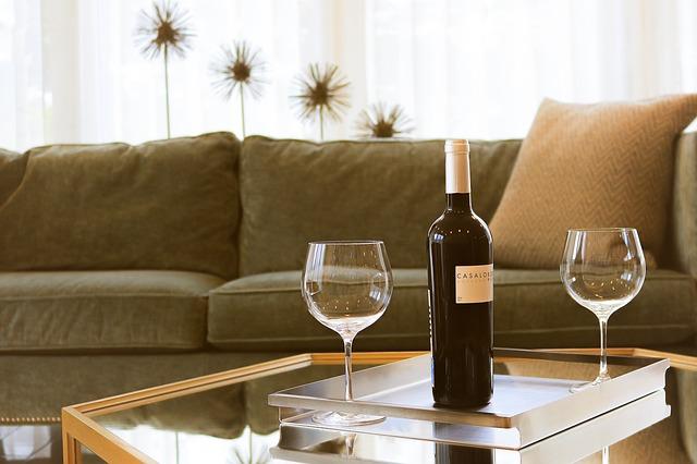 nápojové sklo