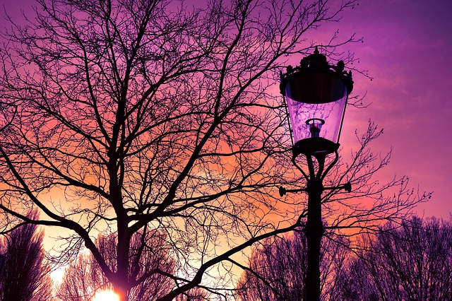 klasická lampa