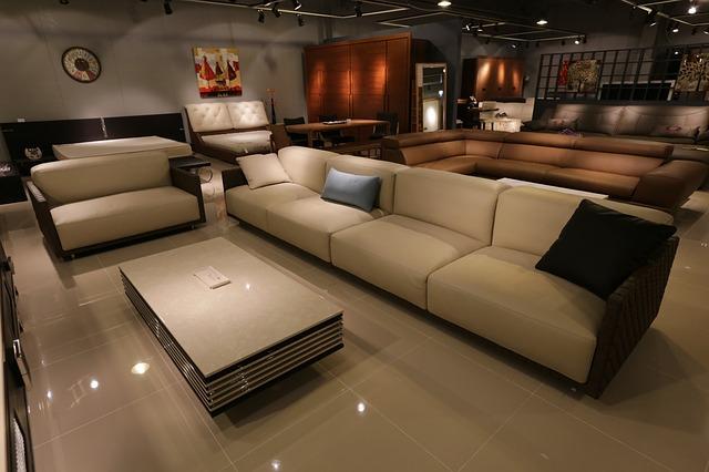 obchod nábytkem