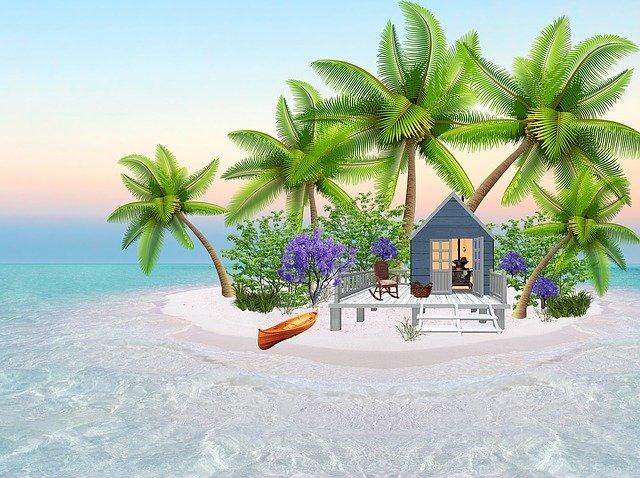 domeček plážový