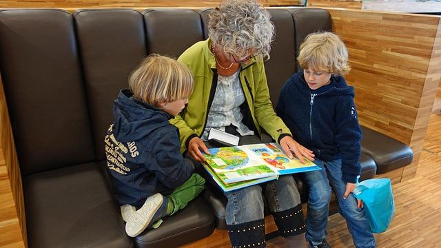 čtení vnoučatům